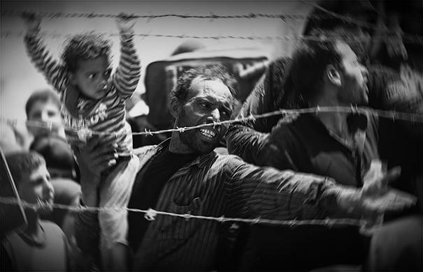 μεταναστες στα συνορα